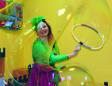 шоу мыльных пузырей на праздник детям СПб заказать