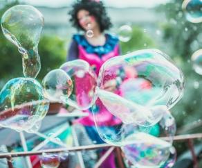 шоу мыльных пузырей СПб