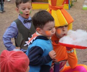 химическое шоу для детей СПб