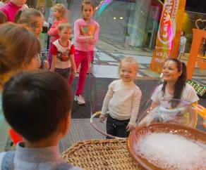 мыльное шоу на детский праздник заказать СПб