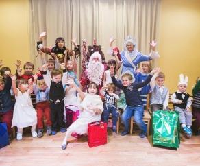 новогодний праздник СПб
