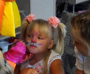 аквагрим на детский праздник заказать СПб