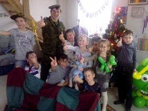 миллитари вечеринка на детский праздник СПб