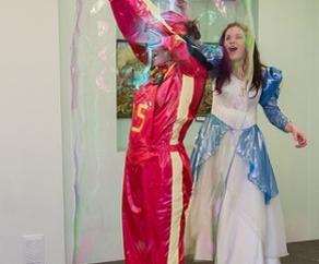 шоу мыльных пузырей на праздник для детей СПб