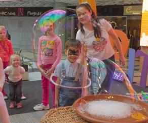 шоу пузырей заказать на праздник СПб