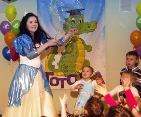 принцесса на детский день рождения СПб